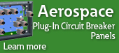 Aerospace Plug In Circuit Breaker Panel